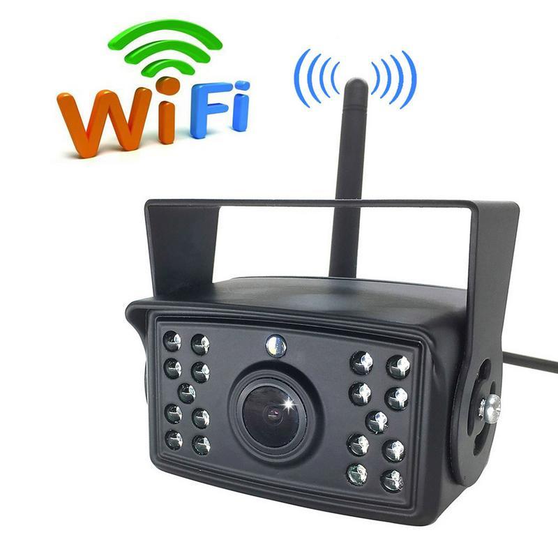 WiFi Caméra De Recul Pour Bus De Camion De Caravane Remorque Support Voiture iphone Android Moniteur Dropship 10.5