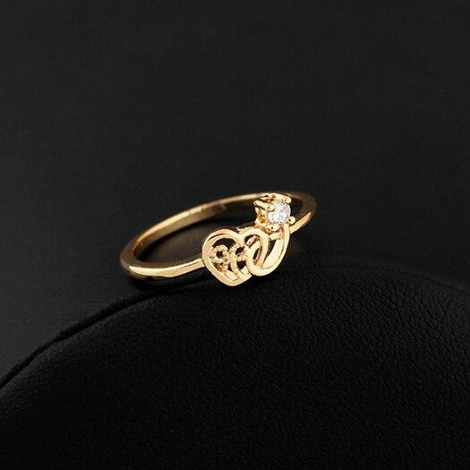 5670384444d85 Seven seas venda Nova moda jóias amor casamento anel de dedo para as  mulheres por atacado E brilhar-Jóias