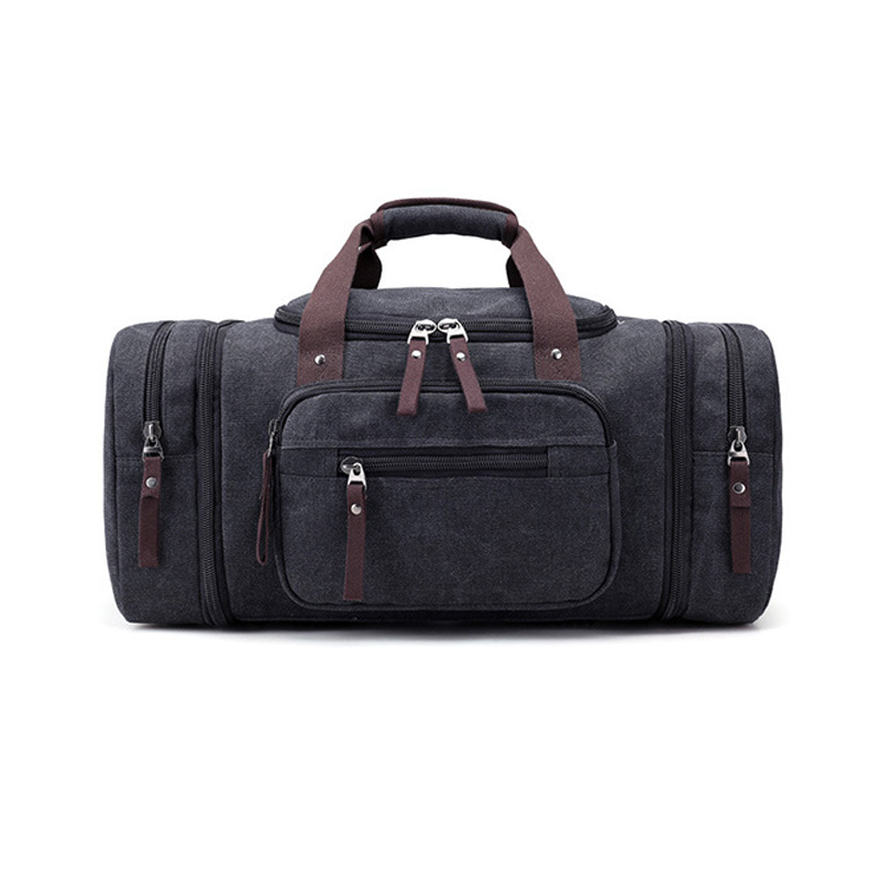 53*30*25cm Canvas Men Fitness Bags Carry on Gym Bags Men/Women Outdoor Sports Tote Large Weekend Bag Fitness Sport Bags 30(China)