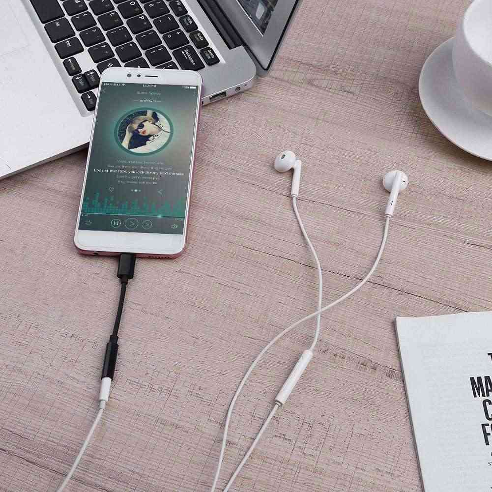 New Type C to 3.5mm Earphone Cable Adapter usb 3.1 Type C USB-C Male to 3.5 AUX Audio Female Jack for Xiaomi Samsung Android