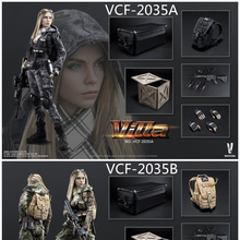1/6 VERYCOOL VCF-2035 Villa Sister Flower Female Solider Figure Collection Full set Doll Toys Gift