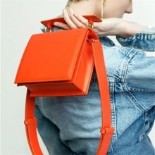 Hot Sale Hottest Women Shoulder Bag Luxury Handbag Famous Brand Designer Crossbody Bags for Tote Orange