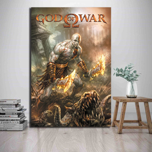 God of War Chronos Ares HD Canvas Paintings For Living Room Modern Wall Art Oil Painting Poster Home Decor