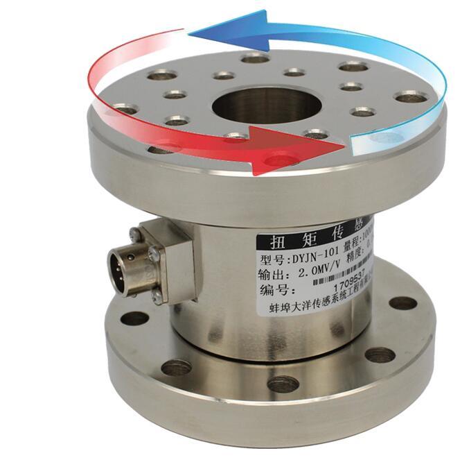 Static torsion torque sensor flange type static torque sensor load cell torque tester rotary torque senor
