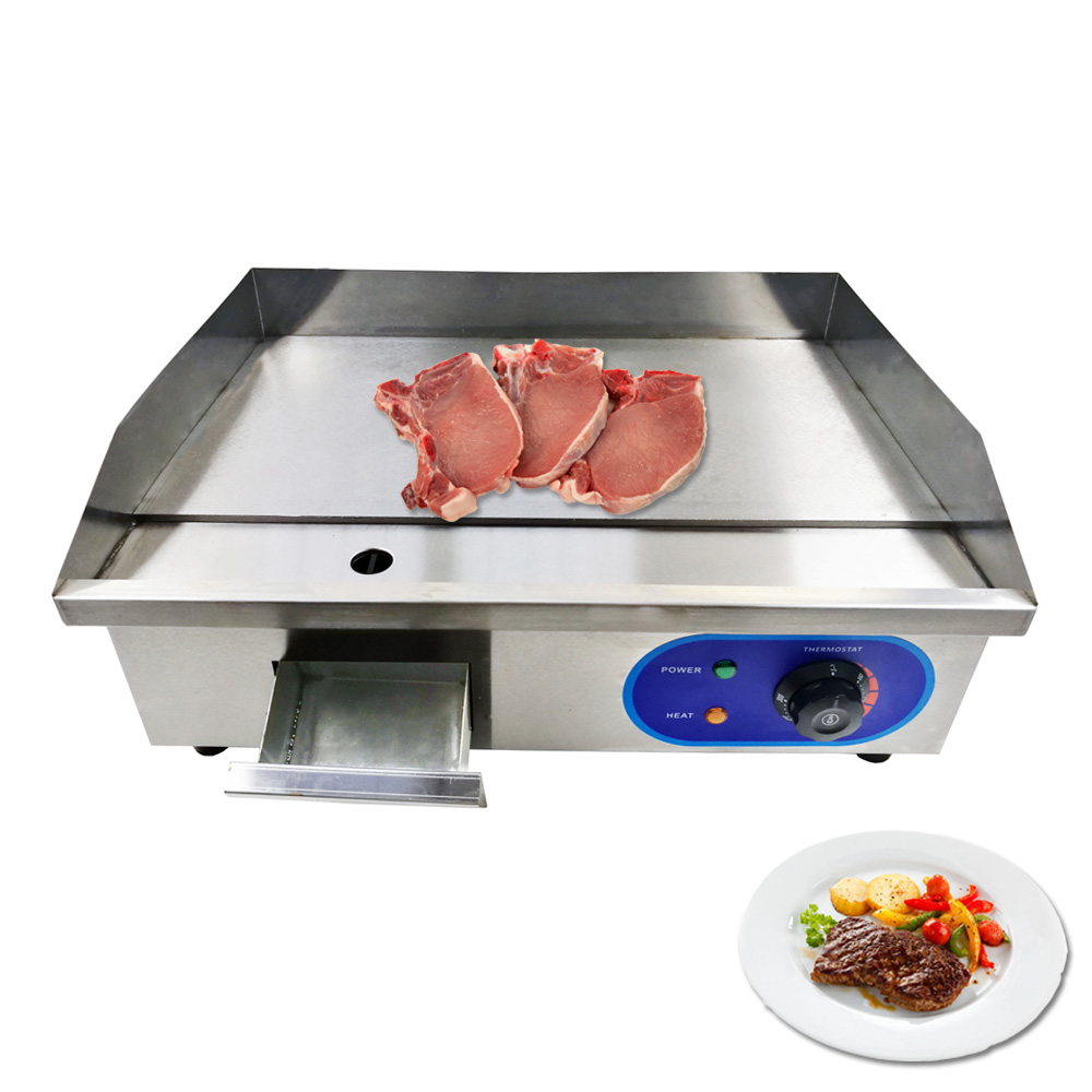 Commercial Electric Griddles Counter Top With CE Certification Restaurant Kitchen Home Use Frying Pans