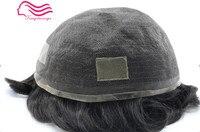 Tsingtaowigs настоящие человеческие волосы Германия кружева парик, прочный волосы мужчины парик, замены волос мужчины парик Бесплатная доставка