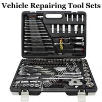 123pcs Vehicle Repairing Tool Sets Screwdrivers Ratchet Spanner Combination Machinery Multifunctional Repairing Tools Set 102123