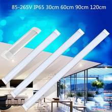 30cm/60cm/90cm/120cm LED Batten Tube LinearLight Tri-Proof Surface Panel Ceiling Lights 85-265V IP65 Waterproof(China)