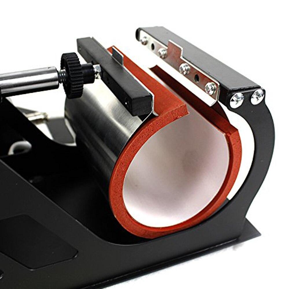 Doubl display 6 w 1 Combo kubek prasa maszyna do drukowania kubków drukarka sublimacyjna do 6oz/9oz(15cm)/11oz/12oz/17oz butelka