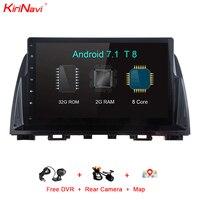 KiriNavi Octa Core Android 7 1 Car DVD Player For Mazda 6 Atenza GPS Navigation Multimedia