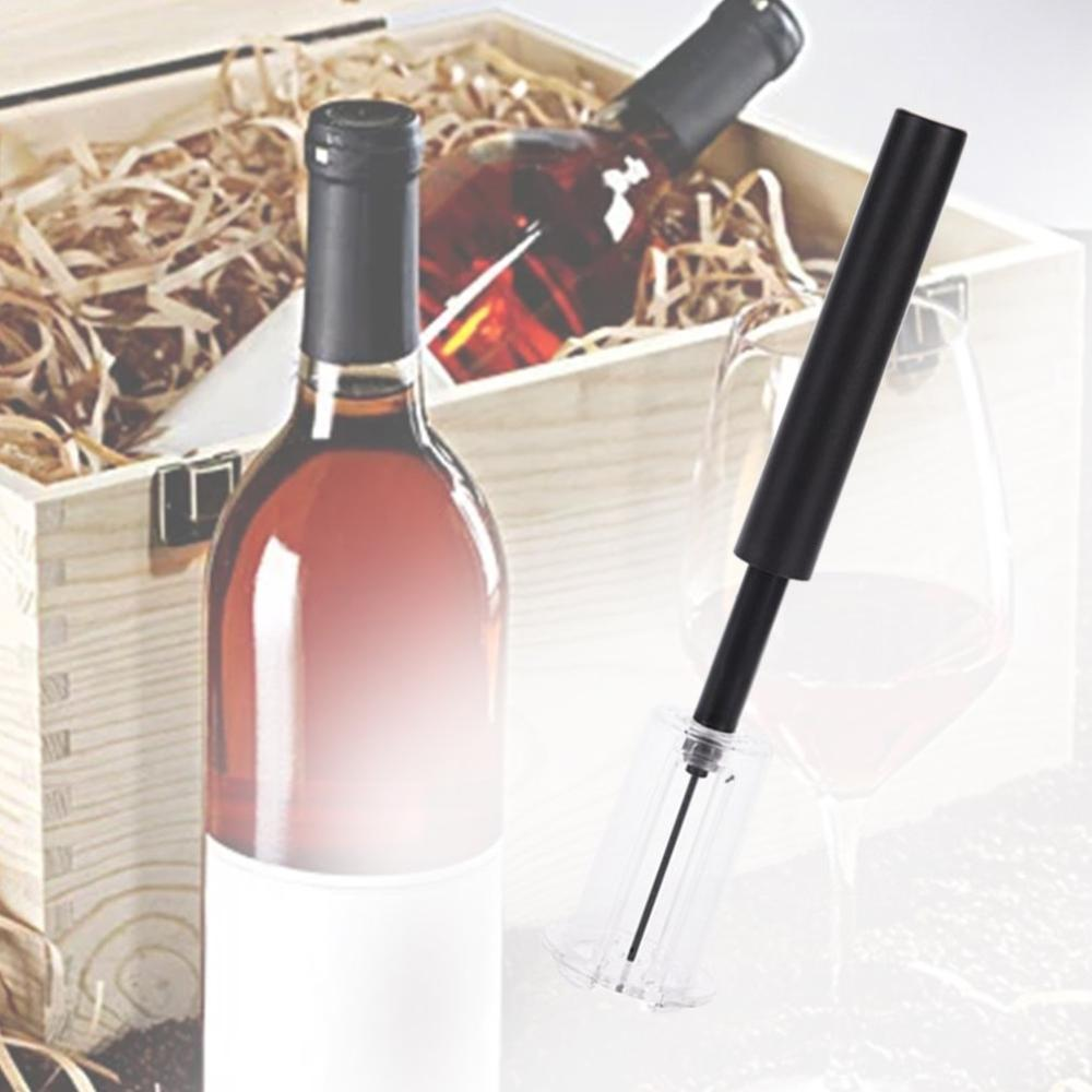 Air Pressure Type Wine Bottle Opener Stainless Steel Pin Type Bottle Pumps Corkscrew Cork Out Tool Red Wine Opener