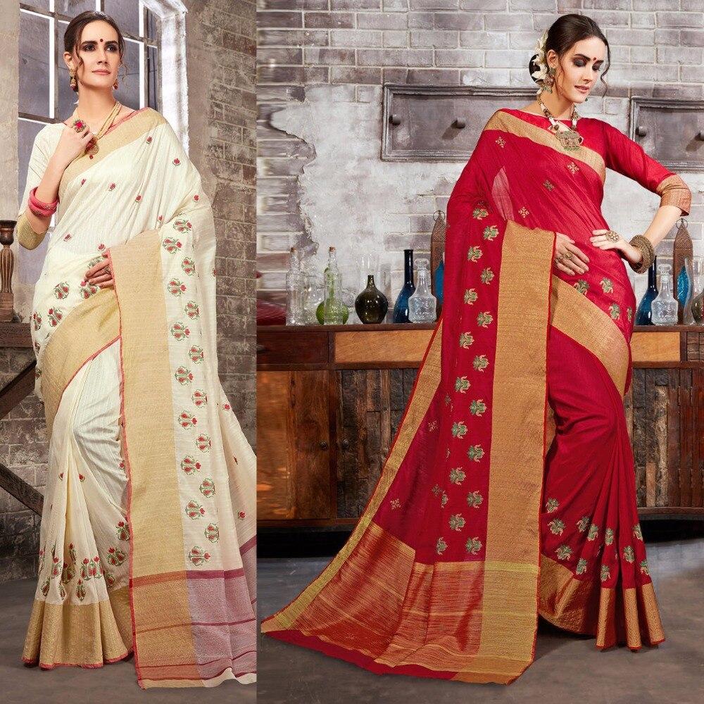 Bollywood Femmes Inde Caftan Sari Sari Robe Vêtements Indien Sari