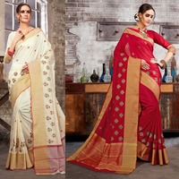 Bollywood Women India Saree Kaftan Sari Dress Clothing Indian Sari