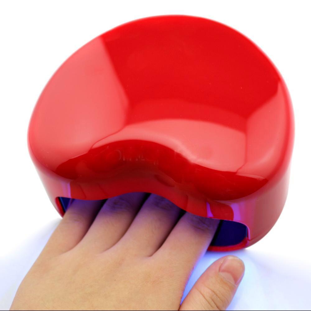 2017 Brand 3W Portable UV Lamp Manicure Nail Dryer Nail Art Led Lamp Gel Polish Dryer UV Lamp Light Heart Shaped Nail Art Tools cnhids set 36w uv lamp 7 of resurrection nail tools and portable package five 10 ml soaked uv glue gel nail polish