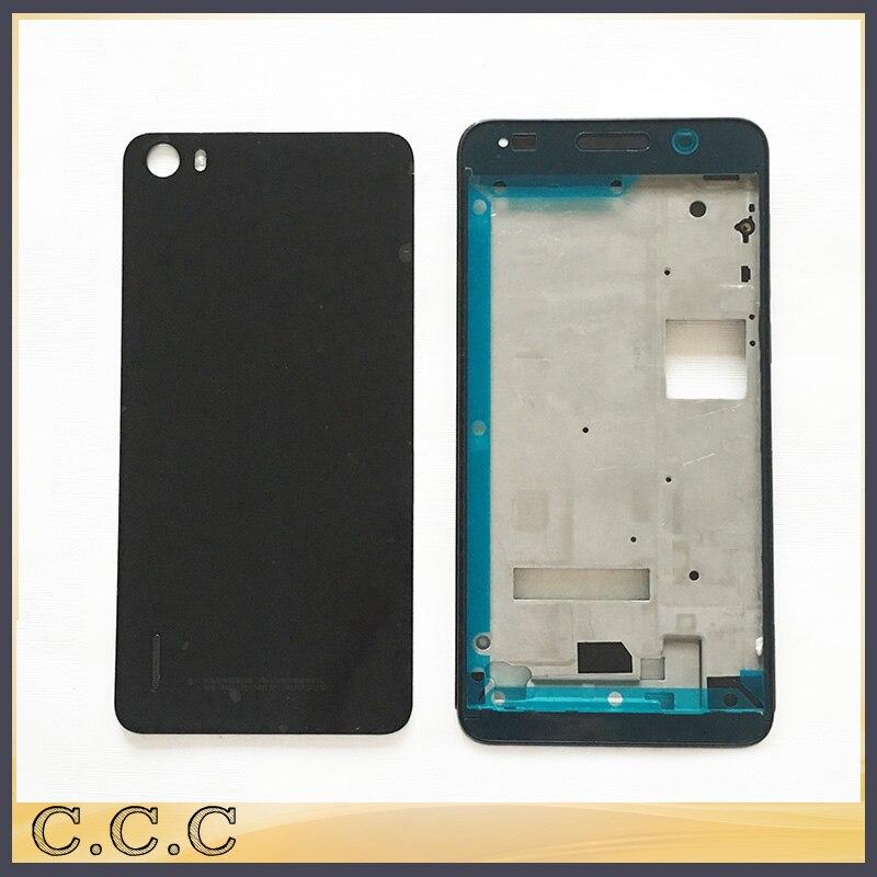 imágenes para La Cubierta Llena Completa Original para Huawei Honor 6 Contraportada Caso de La Cubierta de La Batería + Marco de La Placa Frontal Con Botones