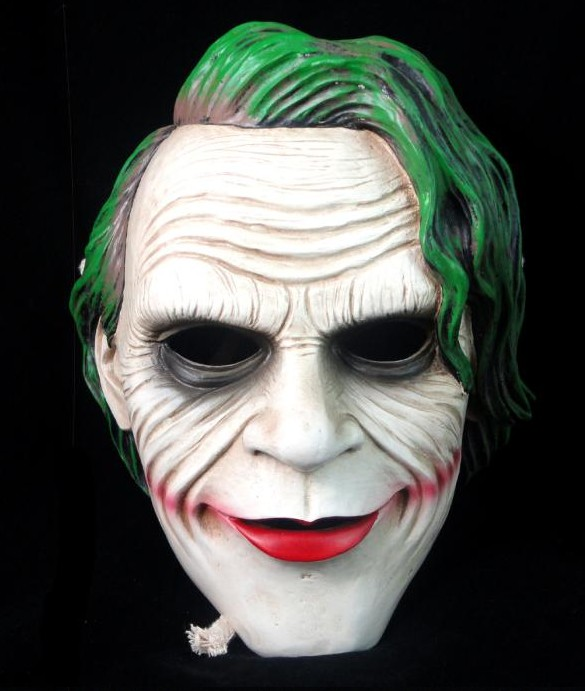 Resin Joker Batman Dark Knight Mask Movie Theme Adult Recreation