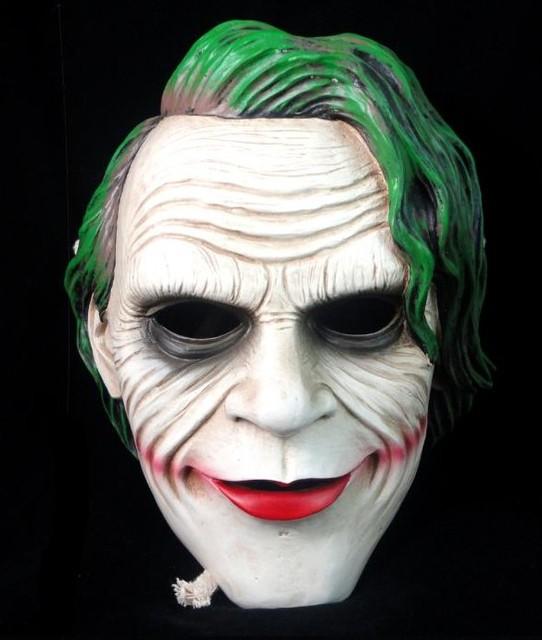 Resin Joker Batman Dark Knight Mask Movie Theme Adult Recreation