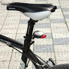 Bike Light Solar Powered LED Rear Flashing Tail Light for Bicycle