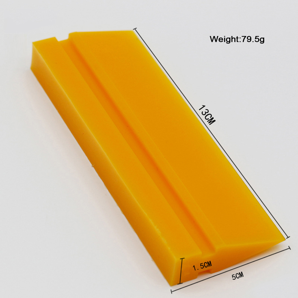 Image 3 - TPU PPF Application Rubber Squeegee Yellow Smoothie Turbo Scraper Wiper For Clear Bra Protection Film Installment MO 707 3 Sizes-in Car Stickers from Automobiles & Motorcycles