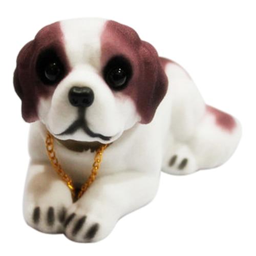 TOYL Car TOYL Decoration Fragrant Saint Bernard Bobbing Head Bobblehead Dogs