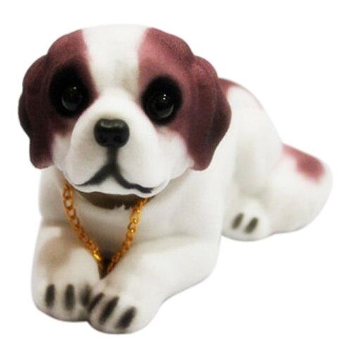 Toyl автомобиля Toyl украшения ароматный Сенбернара качает головой Пупс Товары для собак
