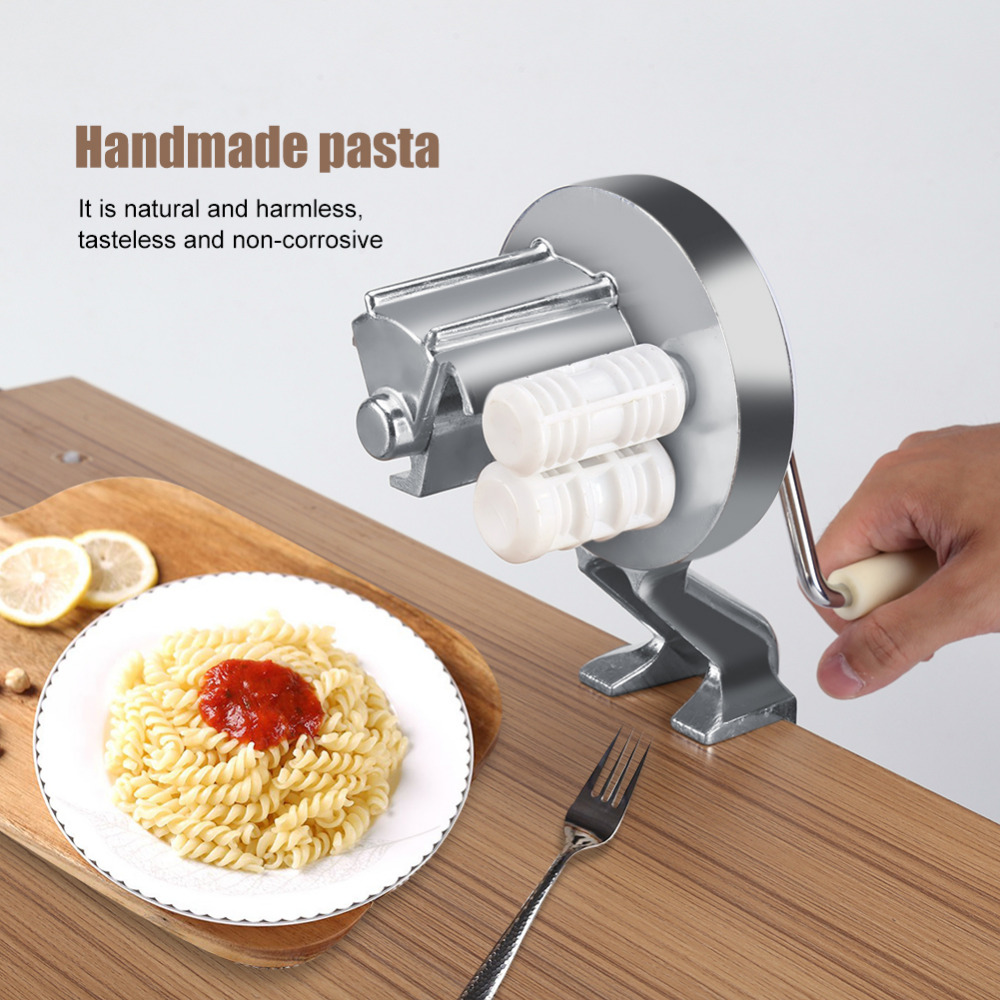 Handmade Spaghetti Pasta Maker Cutter Aluminum Alloy Fettuccine Noodle Press Making Machine