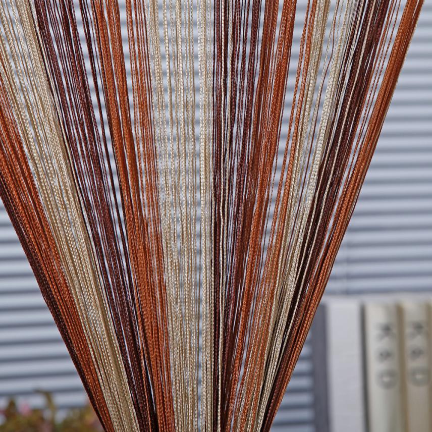 Line String Window Curtain Tassel Door Room Divider Scarf Valance 2may24