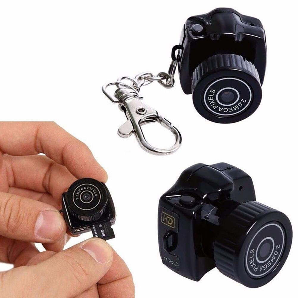Mini Camera Camcorder Micro Dvr Portable 1080P Y2000 HD title=