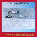 Teclado do portátil dos eua para HP Pavilion HP Pavilion 15 15 T 15-n 15-e e000 15-N000 n000-n100 15t-15t-e000 n100 branco com moldura