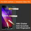 "0.33 mm templado película de vidrio para Asus zenfone 2 ZE551ML ZE550ML ZE550CL Z00ADB 5.5 "" Protector de pantalla Anti shatter película"