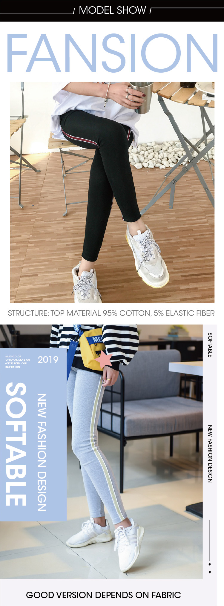 2019 New Fashion Women's Spring And Autumn High Elasticity And Good Quality Slim Fitness Capris Streetwear Leggings Cotton Pants 74