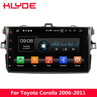 KLYDE 9 IPS 4G Android 8.0 Octa Core PX5 4GB RAM 32GB ROM Car DVD Player Radio For Toyota Corolla 2006 2007 2008 2009 2010 2011