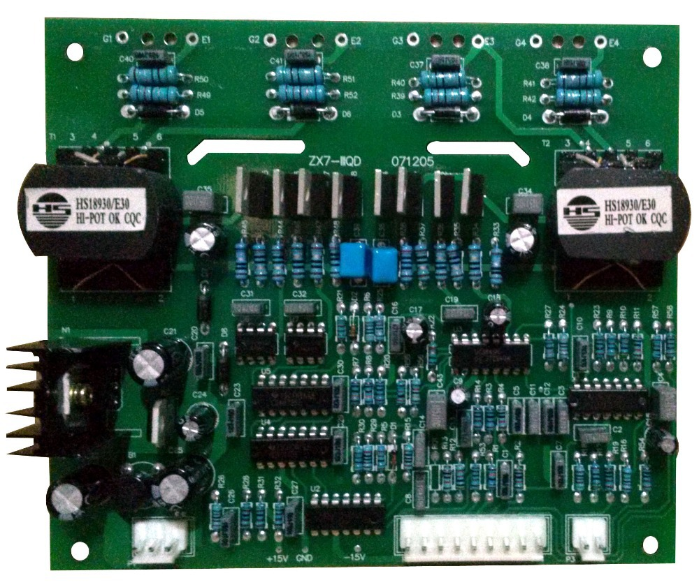 Welding control board for IGBT NBC ZX7 Soft switching control driven board for IGBT inverter welding machine