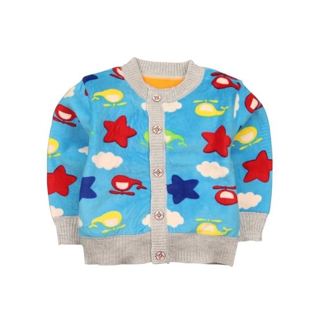 ab35d5d673 R$ 25.3 23% de desconto Superior Camisola de algodão Roupas de Bebê  Crianças Meninos Meninas Malha Crianças Bebê Da Menina Do Menino Outono ...