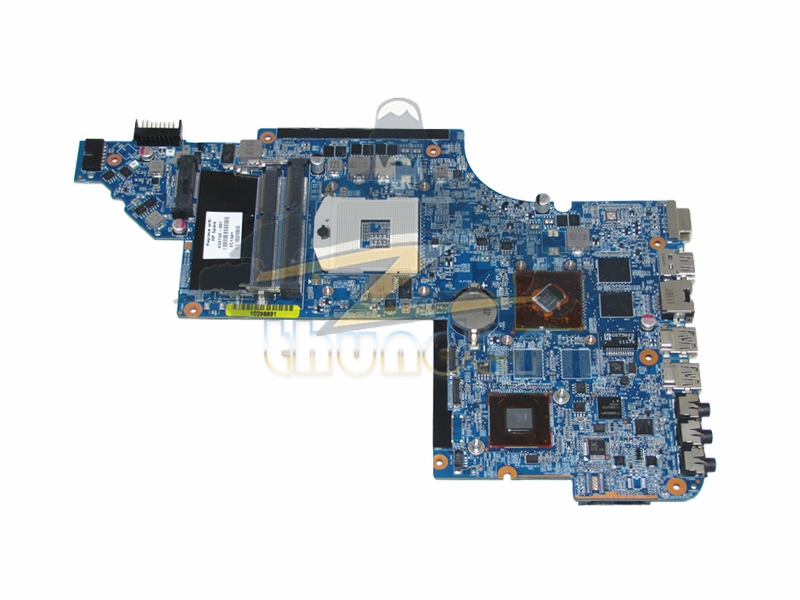 659150-001 for hp pavilion DV6 DV6-6000 laptop motherboard HM65 HD6490M DDR3 wholesale for hp dv6 6000 659150 001 hm65 non integrated motherboard 100% work perfect