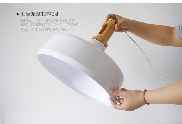 E27 creativo moderno lampade a sospensione per bar sala da pranzo