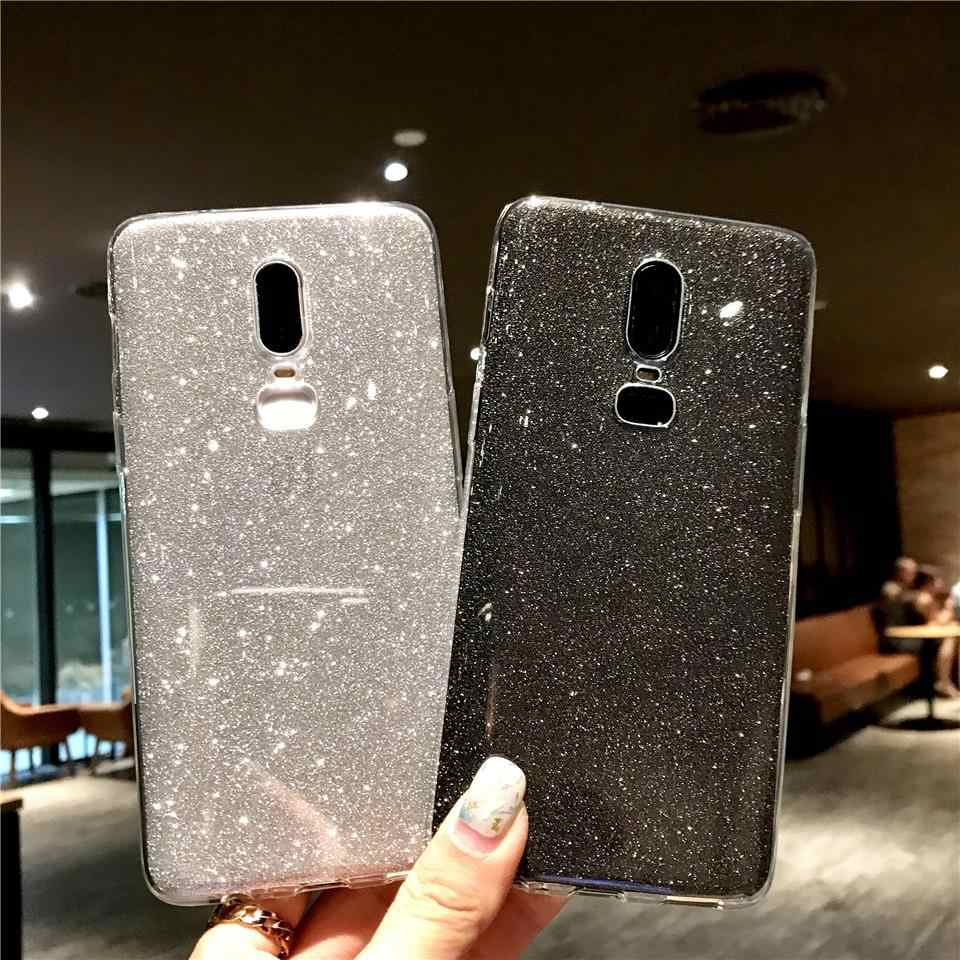 Women Glitter 2 in 1 TPU Case On For OnePlus 6 5T 5 3 LG G5 G6 G7 V10 V20 V30 K8 K10 2017 Q6 Q8 Cover Silicone Soft Phone Cases