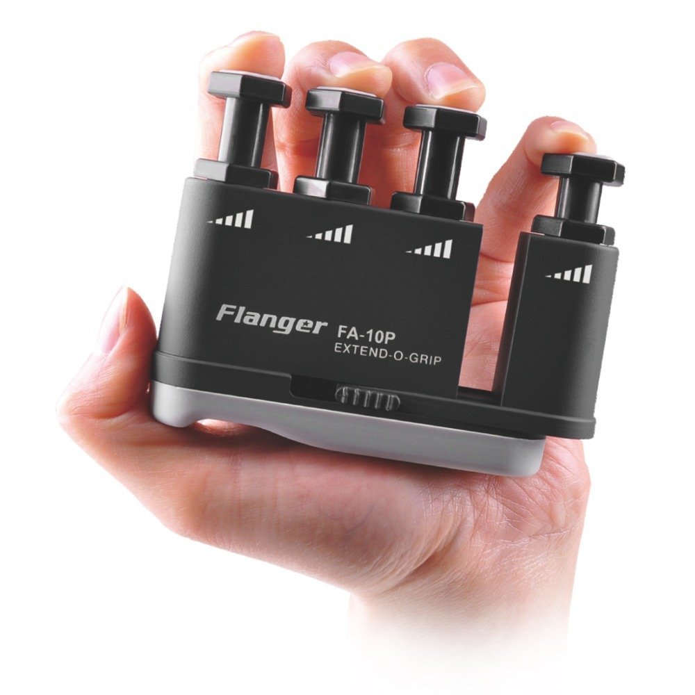 Extendable Finger Exerciser Strength adjustable Finger Trainer Flanger FA-10P mini strength finger exerciser kids child mini finger exerciser guitar bass piano beginner trainer fa 12 guitar accessories