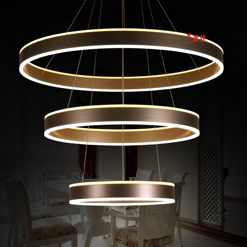 Modern Acrylic chandelier LED circle rings hanging pendant chandelier lights for living room Acrylic Lustre Chandelier dragonscence luxury modern chandelier led circle ring chandelier light for lobby living room acrylic lustre customizable