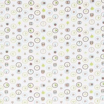 оптовая продажа полиэфирной ткани | Оптовая продажа 6 шт. новорожденных вышивка детская кроватка бампер постельное белье дизайнер ткань хлопок мультфильм печатных совы на дер...