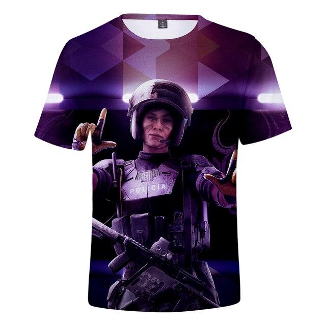 Rainbow Six Siege 3D T shirt