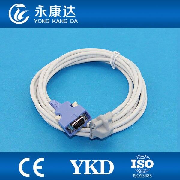 Envío Gratis DOC-10 14pin directa reutilizable pediátrica punta suave spo2 sensor de 3 m médico TPUcable