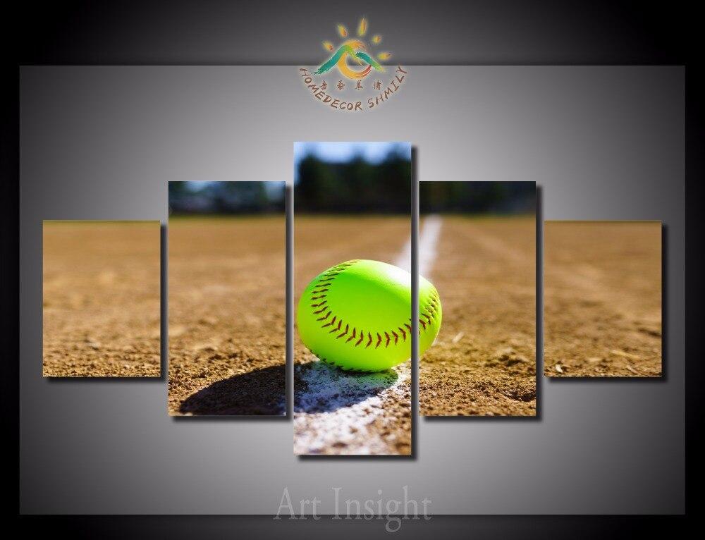 Online Get Cheap Softball Wall Art Aliexpresscom Alibaba Group