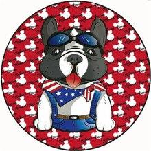 Cartoon Dog Mat