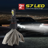 Auto Care 2PCS 36W 4000LM COB Car LED Headlight Kit H4 High Low Beam H4 3