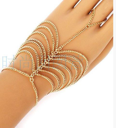 Gold Multilayer Bracelets...