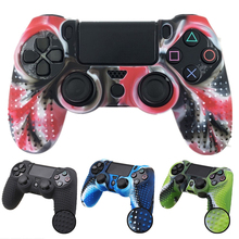 Get more info on the For PlayStation 4 PS4 Controller Camouflage Silicone Rubber Skin Grip Cover Case