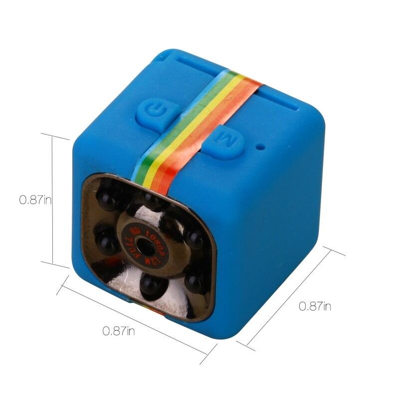 EDAL Mini Macchina Fotografica HD Camcorder HD Nachtzicht Mini Macchina Fotografica 1080 P Antenne Sport Mini DV Video Recorder Voice SQ11 Per Dropshipping