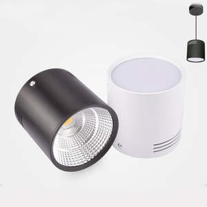 Led Downlights Led-Driver Ceiling-Spot-Light Surface-Mounted Dimmable Lamp 85-265V 3W