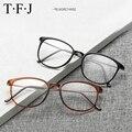 TFJ Óculos de armação óculos de armação homens mulheres óculos enquadrar oculos de grau prescrição espetáculo óptico óculos de computador